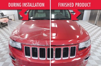 Clear Auto Bra Michigan Paint Protection Plus Xpel And M Paint - Paint plus